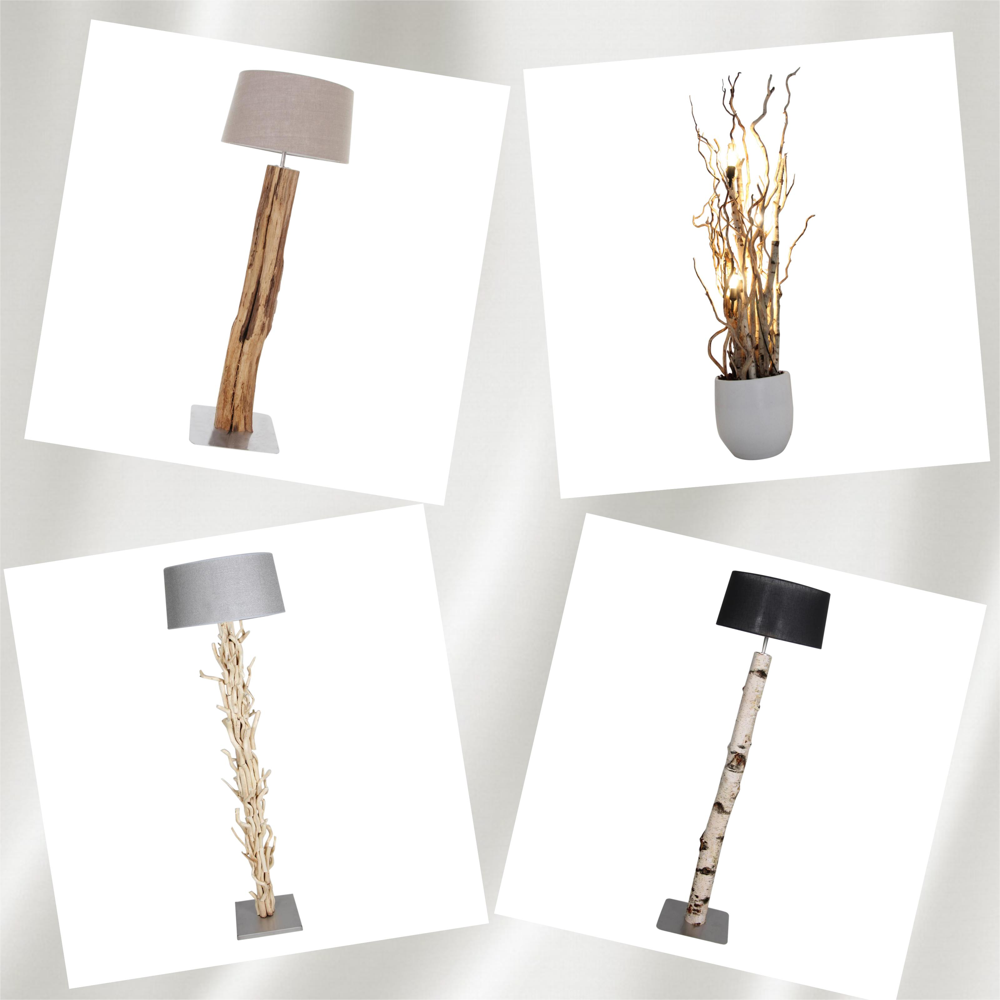 collage staan lamp